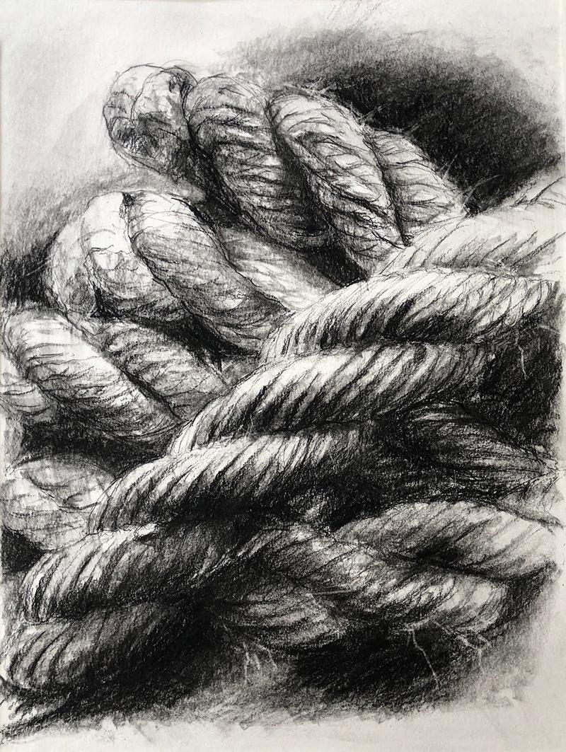 3-Corde 191204 48 x 36 cm -1